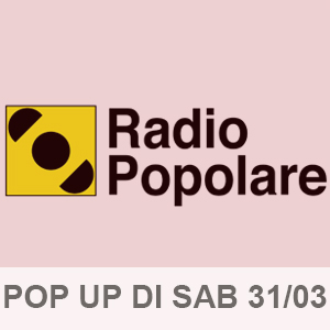 Pop Up di Sabato 31-03